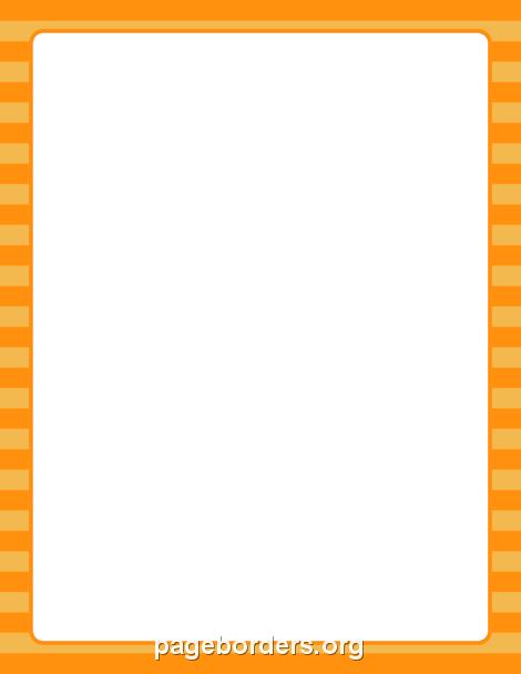 Orange Boarders Clipart Best
