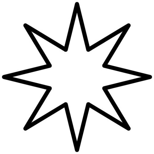 Stars drawing outline clipart best for How to draw a perfect star shape
