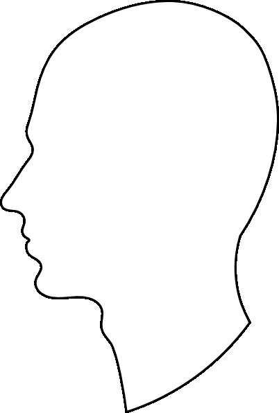 Outline Side Profile - ClipArt Best