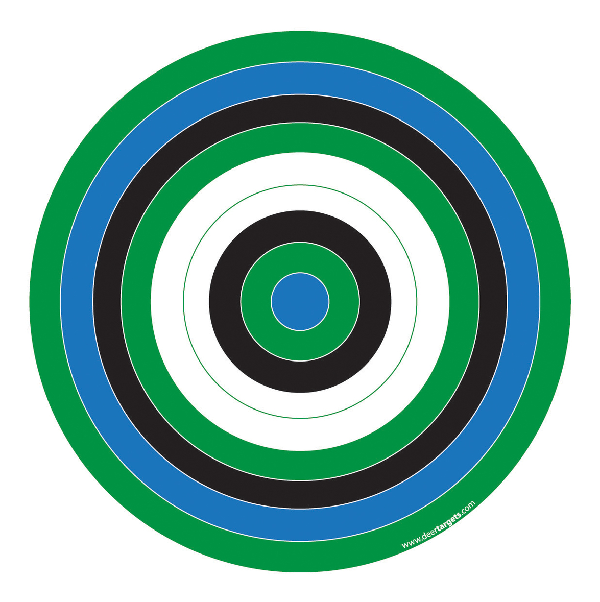 This is an image of Inventive Printable Bullseye Target