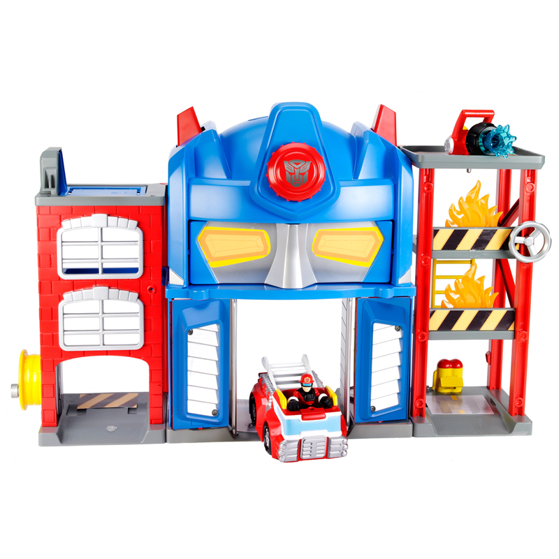 Fire Station Prime - Transformers Rescue Bots