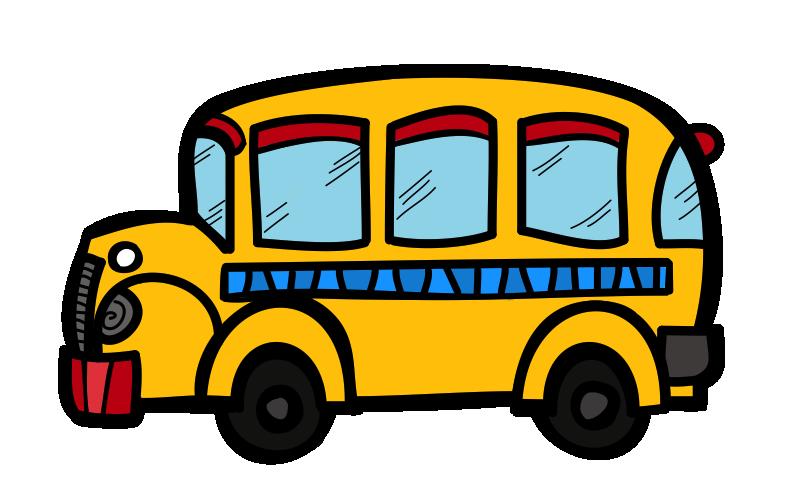 Short Bus Clip Art