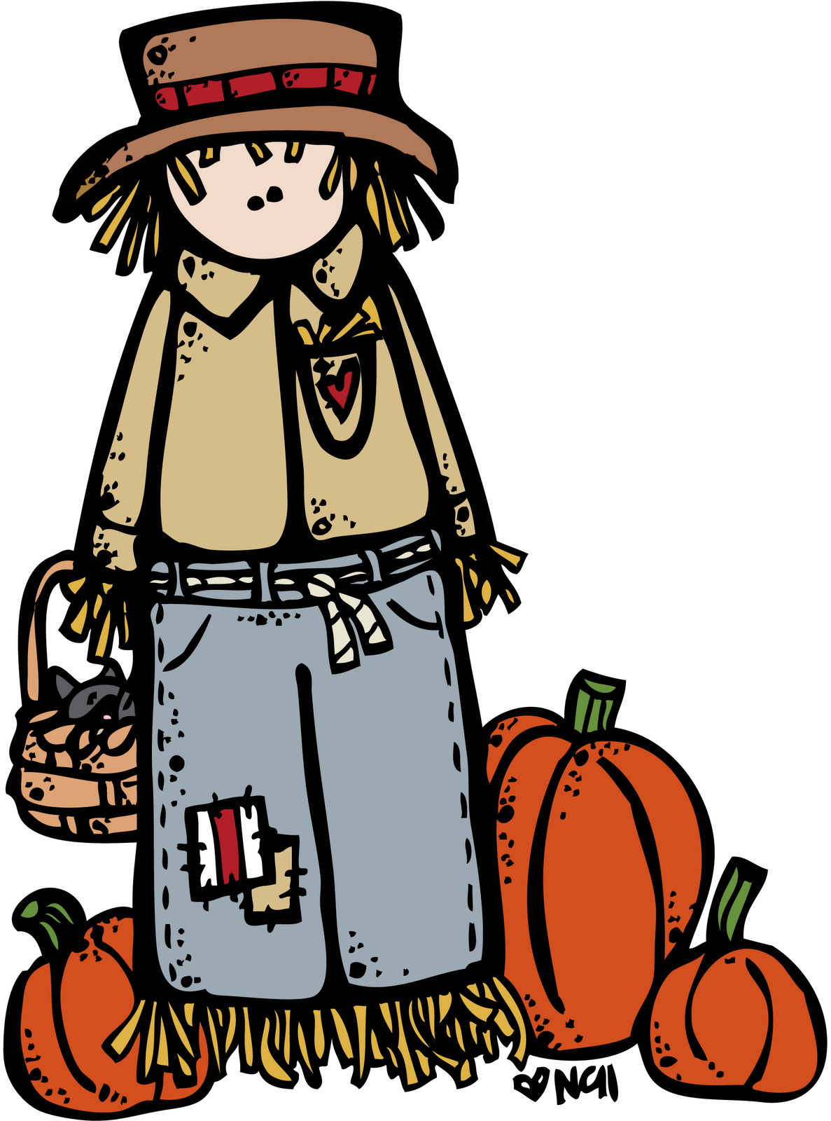 Free Scarecrow Clipart | Free Download Clip Art | Free Clip Art ...