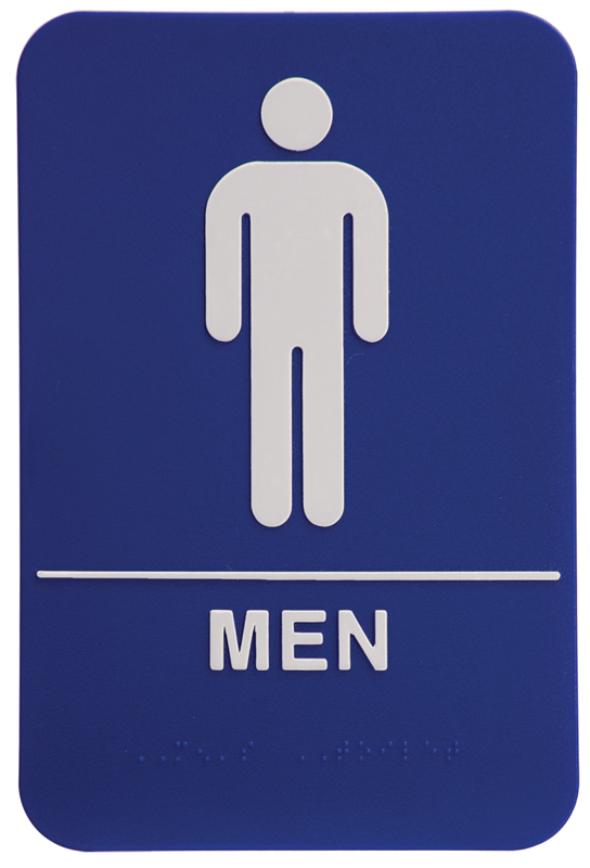 Men Restroom Sign Clipart Best