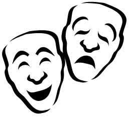 Theater Symbol Masks - ClipArt Best