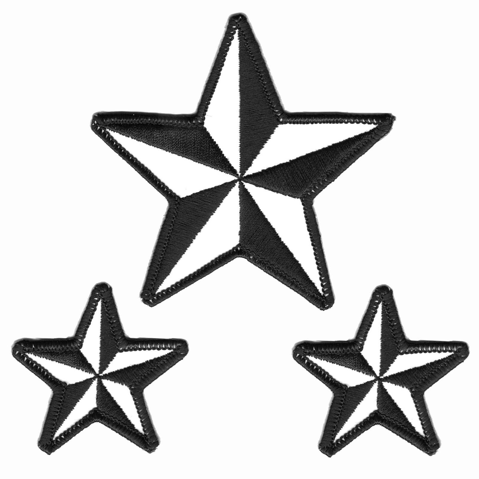 Stars Black And White ...