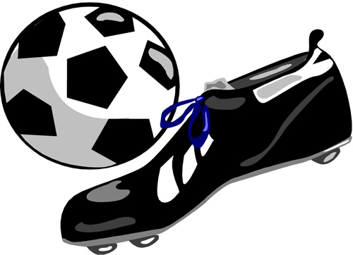 football shoes clipart - photo #8