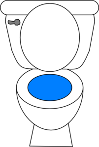 Clip art no peeing on toilet seat this