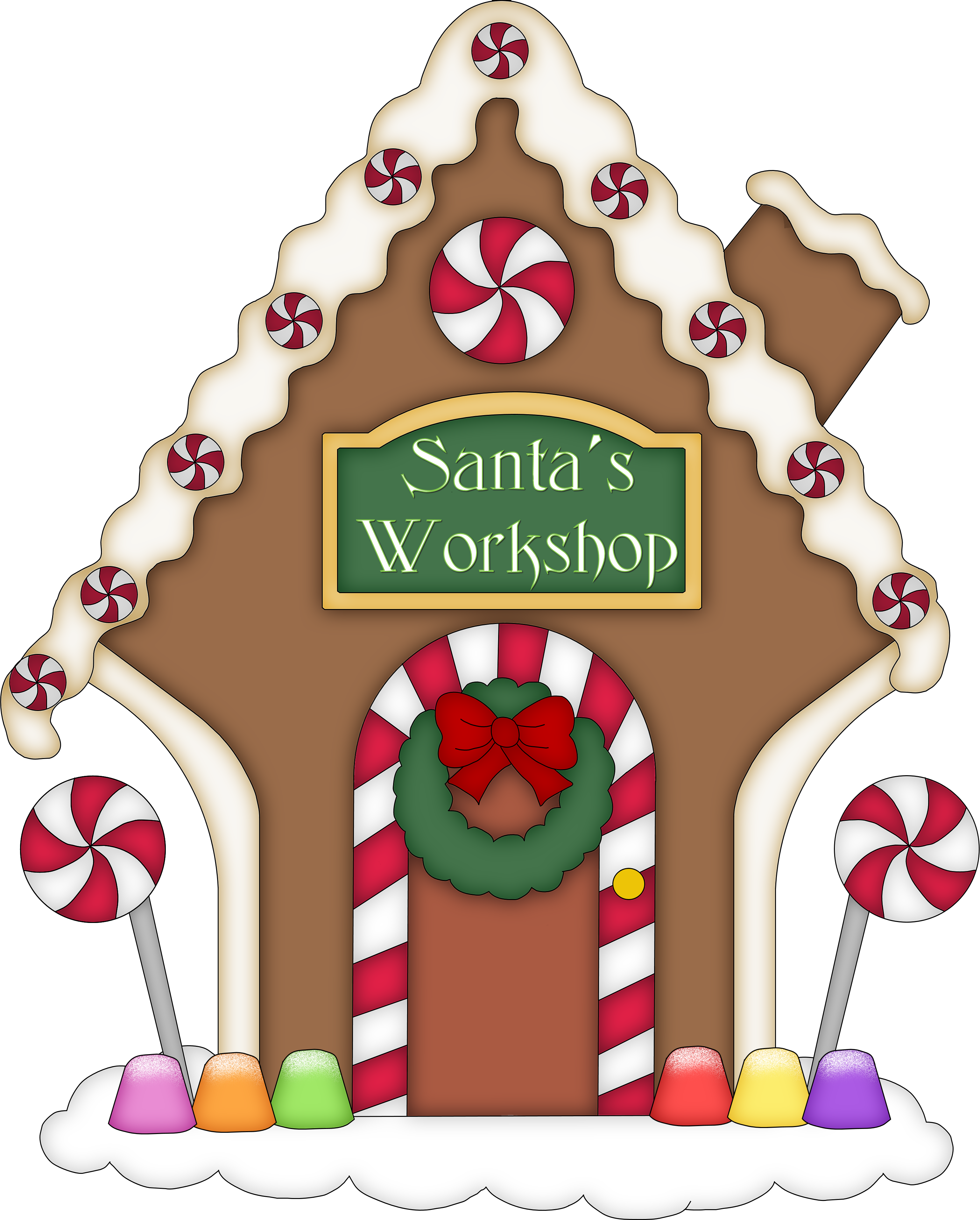 free gingerbread house clipart - photo #5