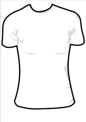 Girl Shirt Clip Art
