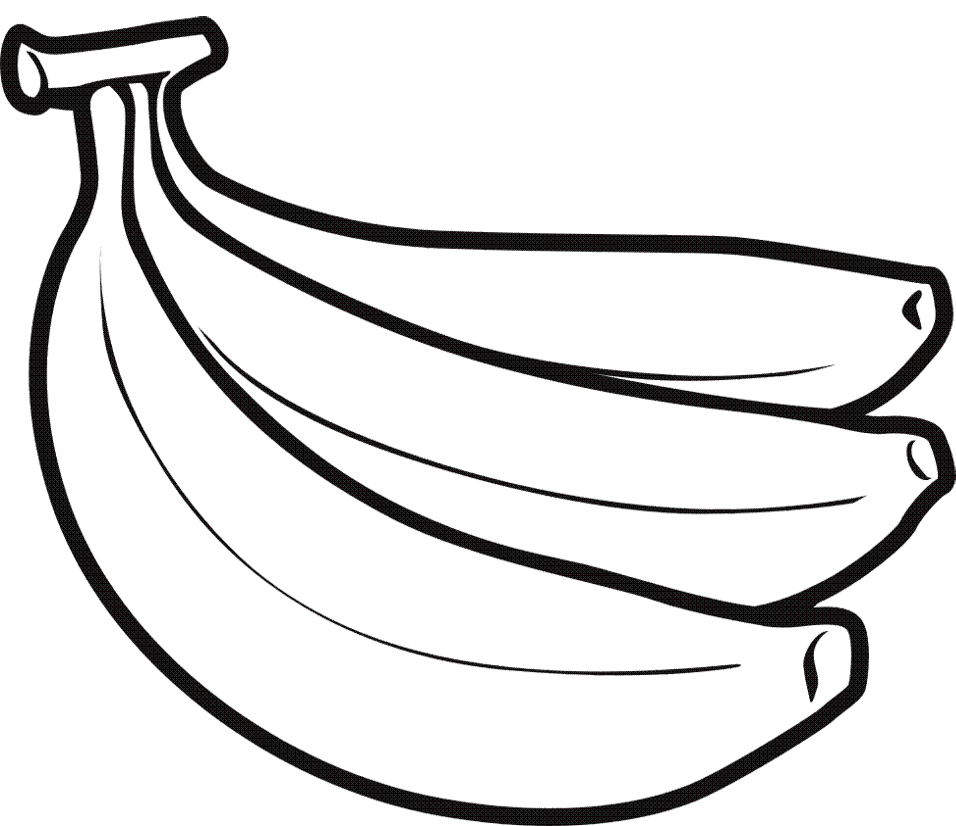 Banana Drawing - ClipArt Best