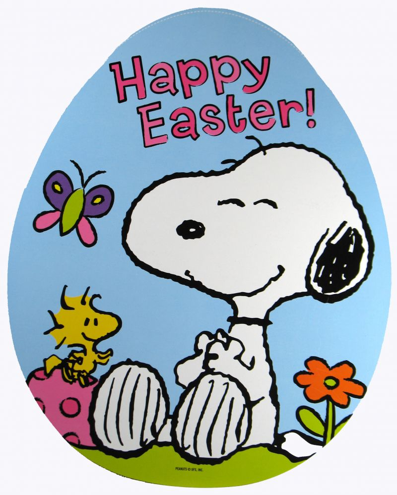 Snoopy Easter Clip Art - ClipArt Best