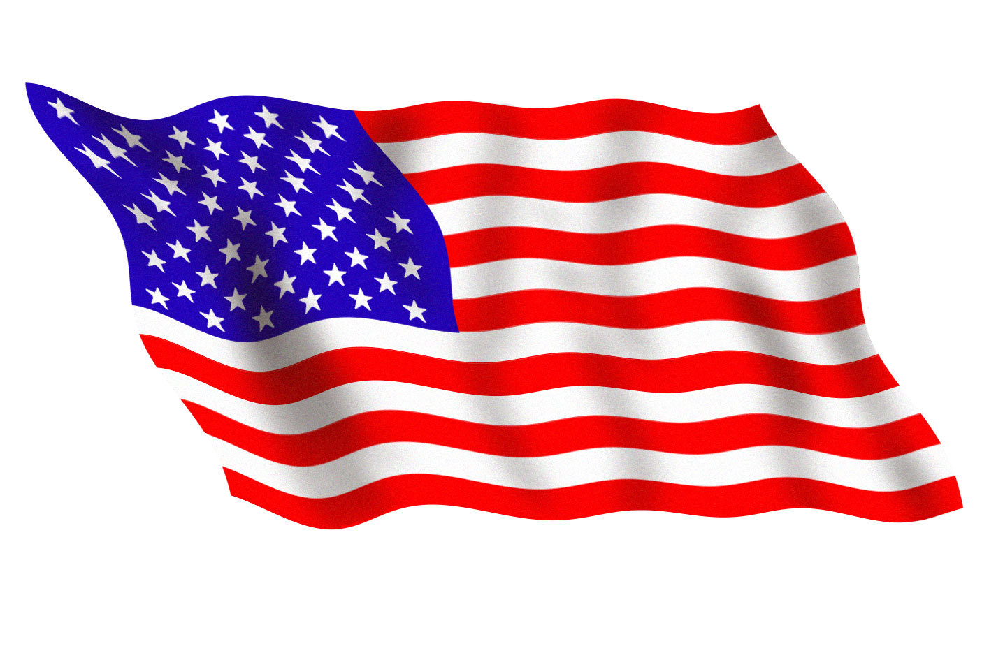 Waving American Flag Clip Art Moving - Viewing Gallery ...