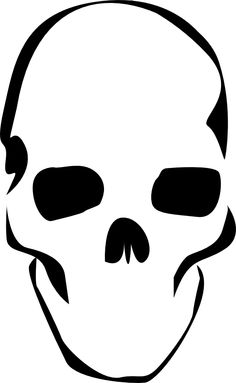 Comprehensive image with skeleton stencil printable