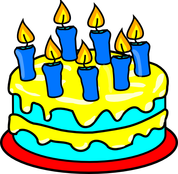 Happy Birthday Cartoon Cake - ClipArt Best