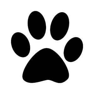 paw print silhouette clipart best Tiger Head Clip Art Free Lion Clip Art Free