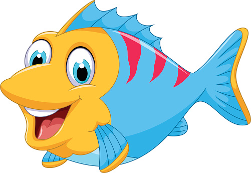 Images of animated fish clipart best for Fish clipart images