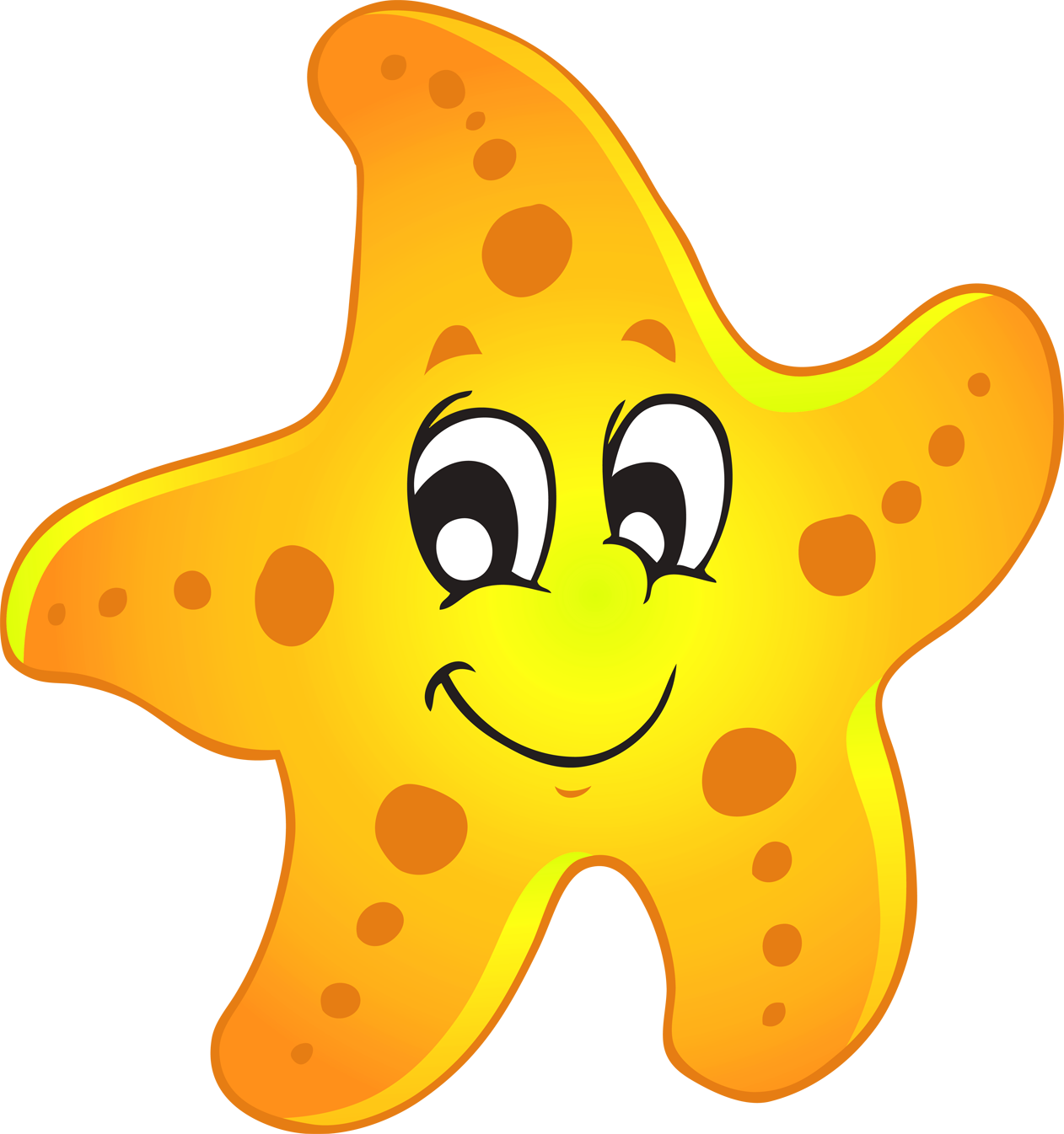 Sea Star Clipart - ClipArt Best