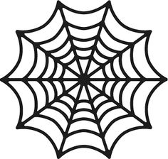 Spider Web Template Clipart Best Spider Web Color Template