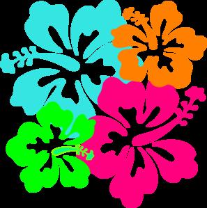 Hawaiian Flower Border Clip Art | Clipart Panda - Free Clipart Images