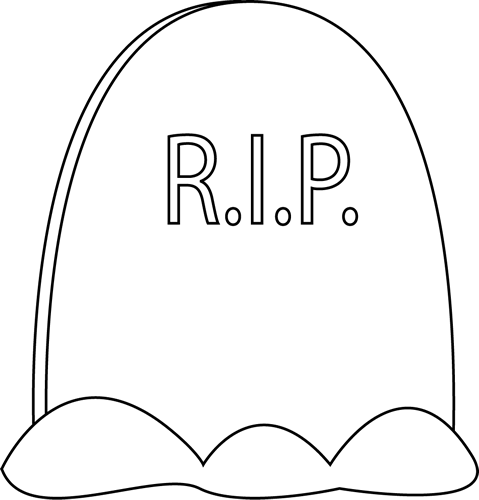 printable tombstone coloring pages | Printable Tombstone Coloring Pages | Mewarnai - ClipArt ...