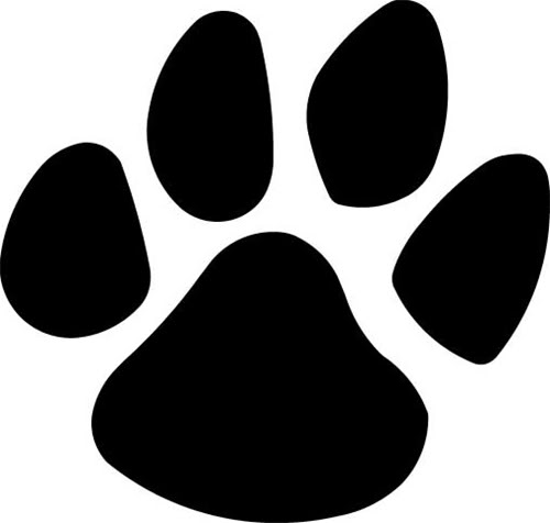 Panther Paw Background - ClipArt Best