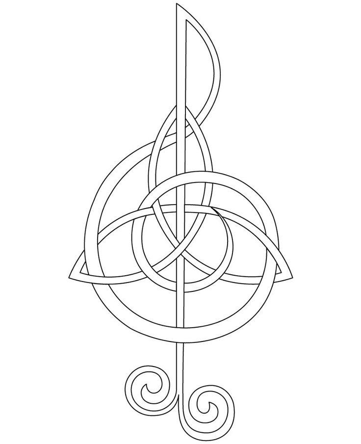 Celtic Music Tattoo - ClipArt Best