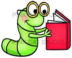 Bookworm Clip Art Images Bookworm Stock Photos Amp Clipart Bookworm ...