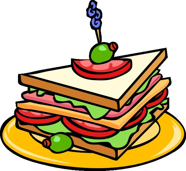 Sandwich clip art - vector clip art online, royalty free & public ...