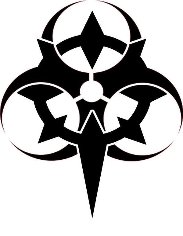 cool biohazard symbols clipart best