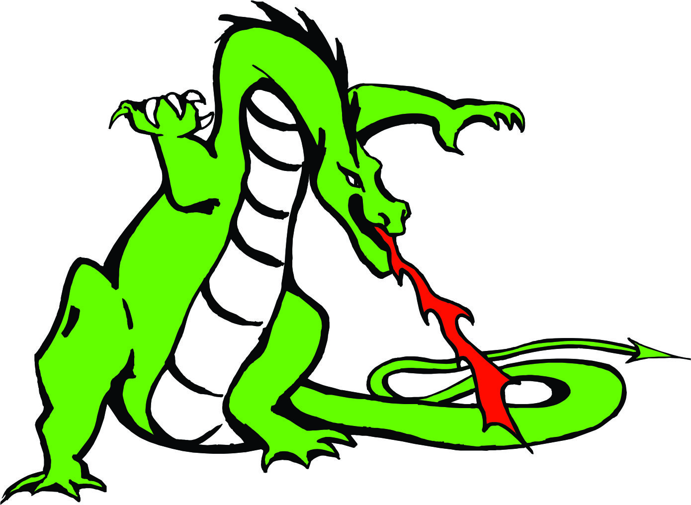 Picture Of Cartoon Dragon - ClipArt Best