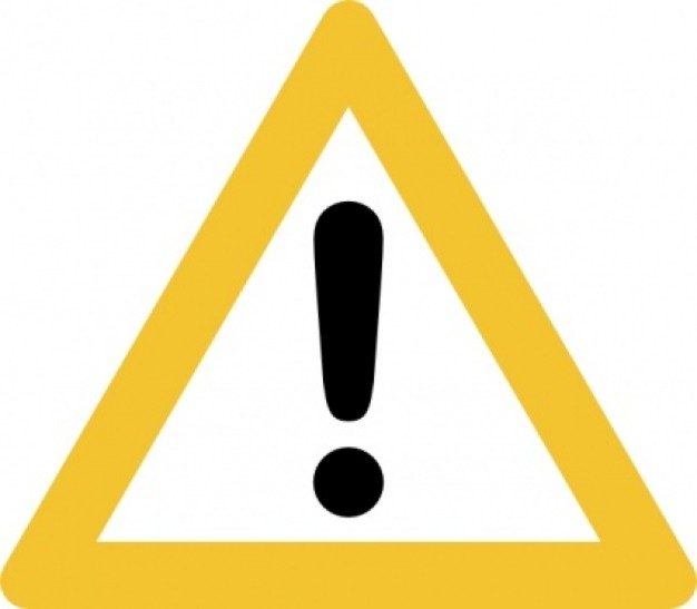 Caution Sign Clip Art Free - ClipArt Best
