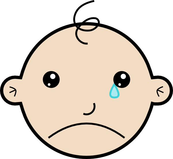 Crying Faces Cartoons - ClipArt Best
