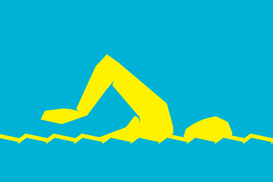 Olympic Swimming Logo