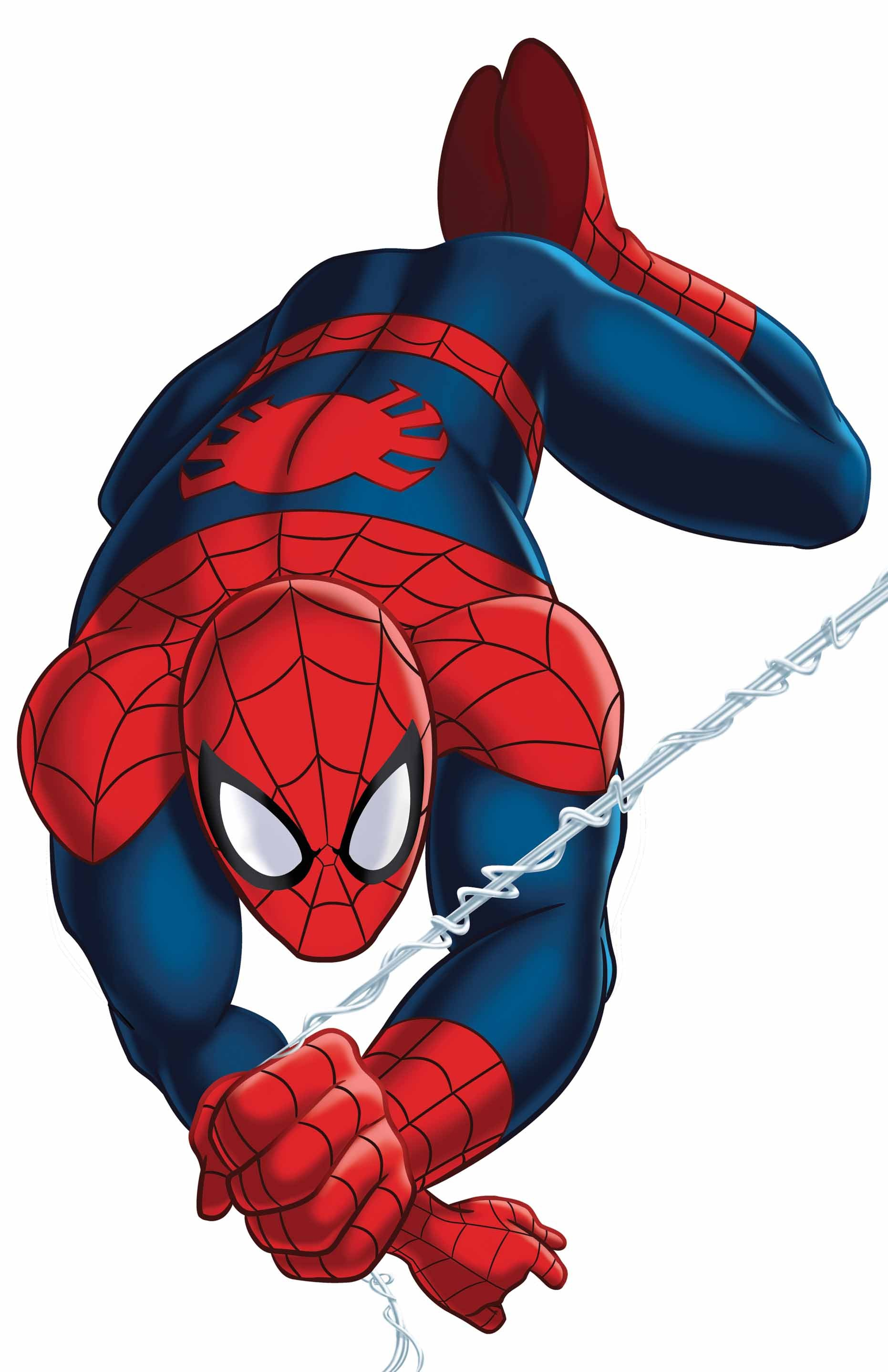 spiderman cartoon clipart best Spider-Man Coloring Pages spiderman clipart free download