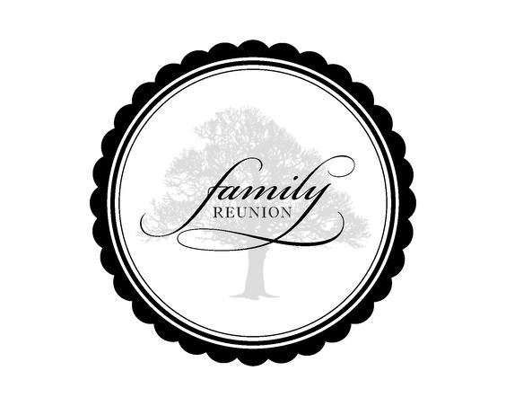 black family reunion logos clipart best