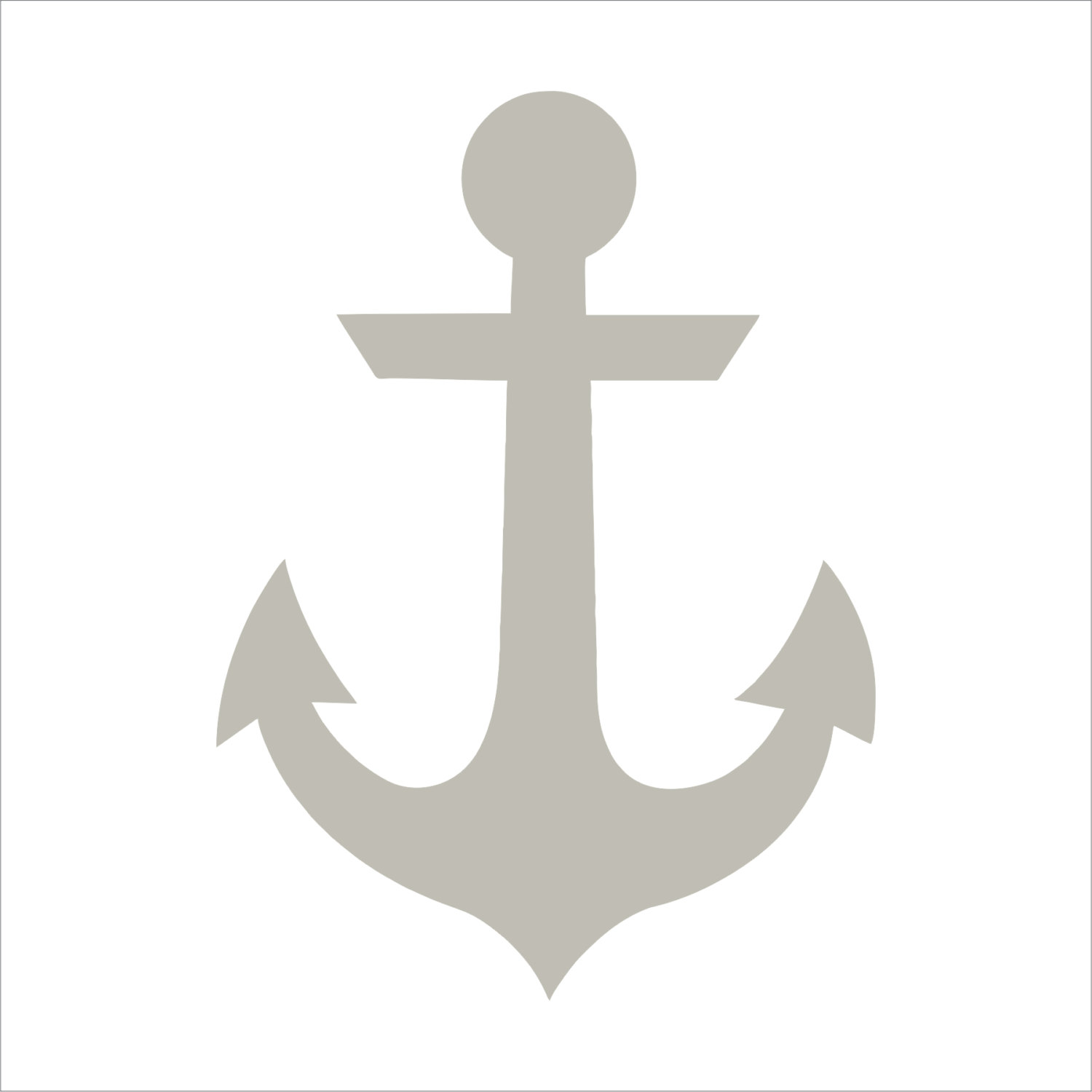 It is an image of Refreshing Printable Anchor Template