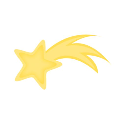 Shooting Star Clipart | Star ...