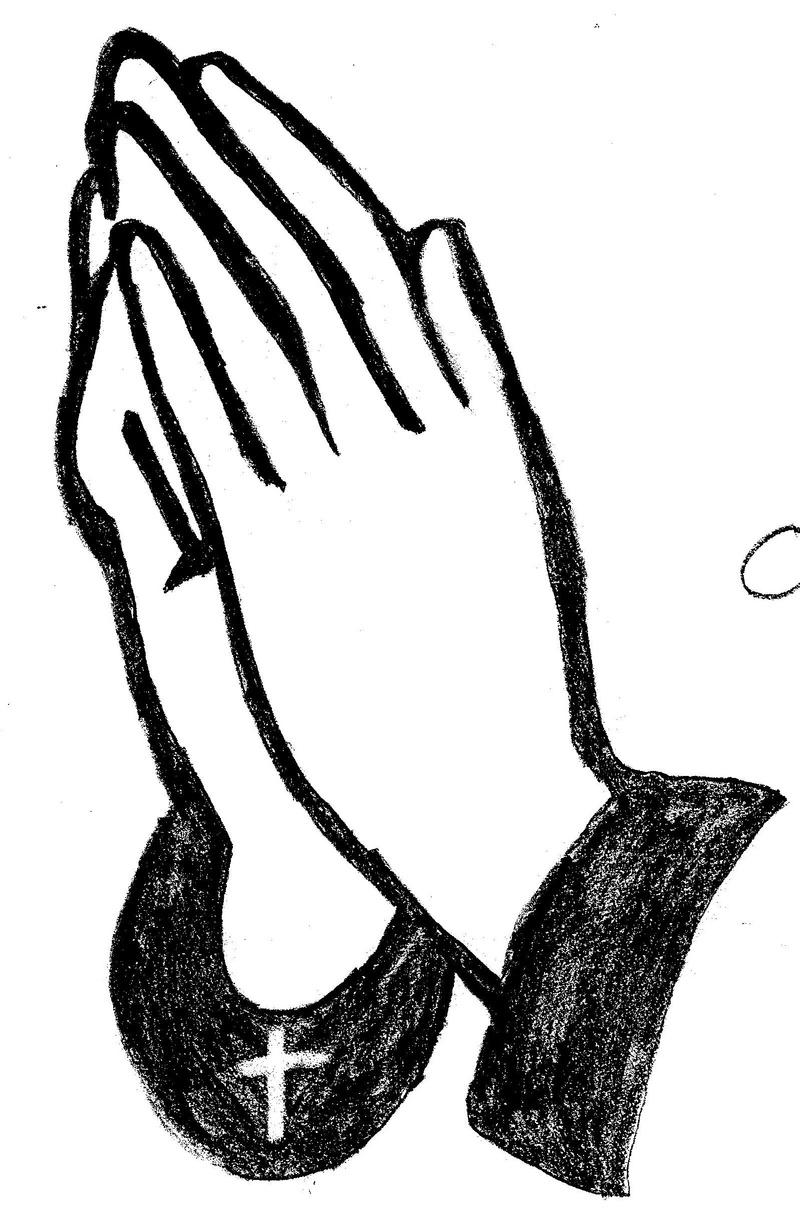 Catholic Praying Hands Clip Art