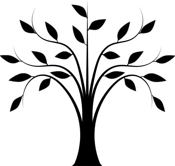 Line Drawing Trees - ClipArt Best