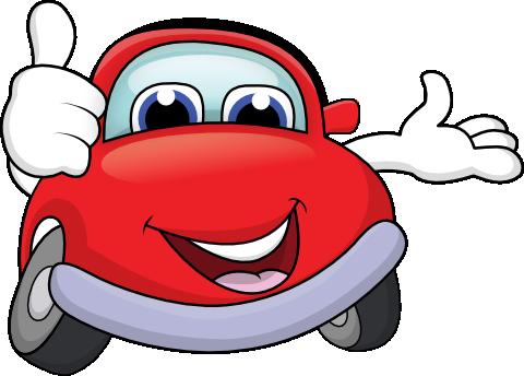 Funny Cartoon Happycar - ClipArt Best