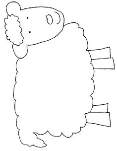 Obsessed image inside sheep template printable