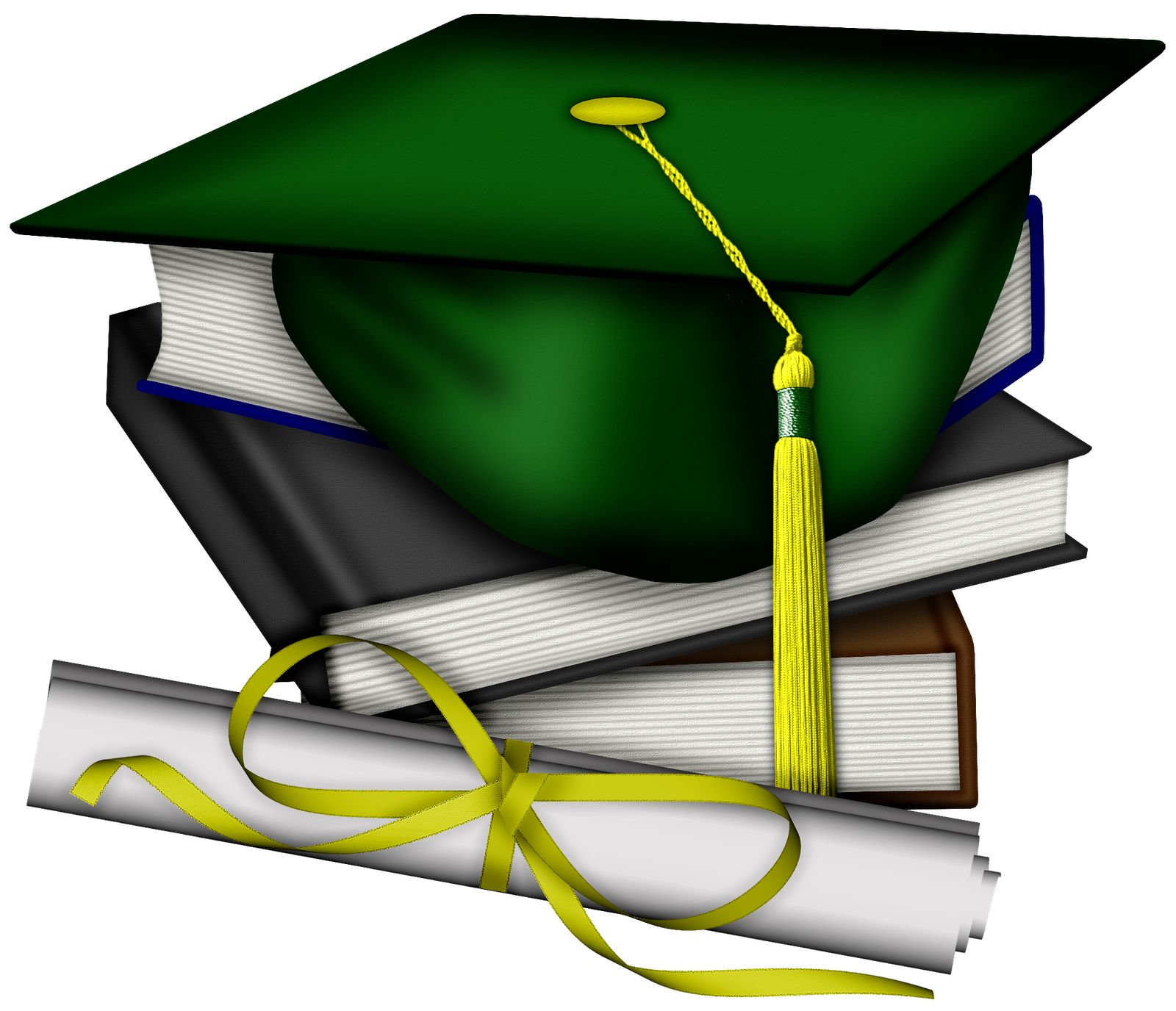 Green Graduation Cap Clipart - ClipArt Best