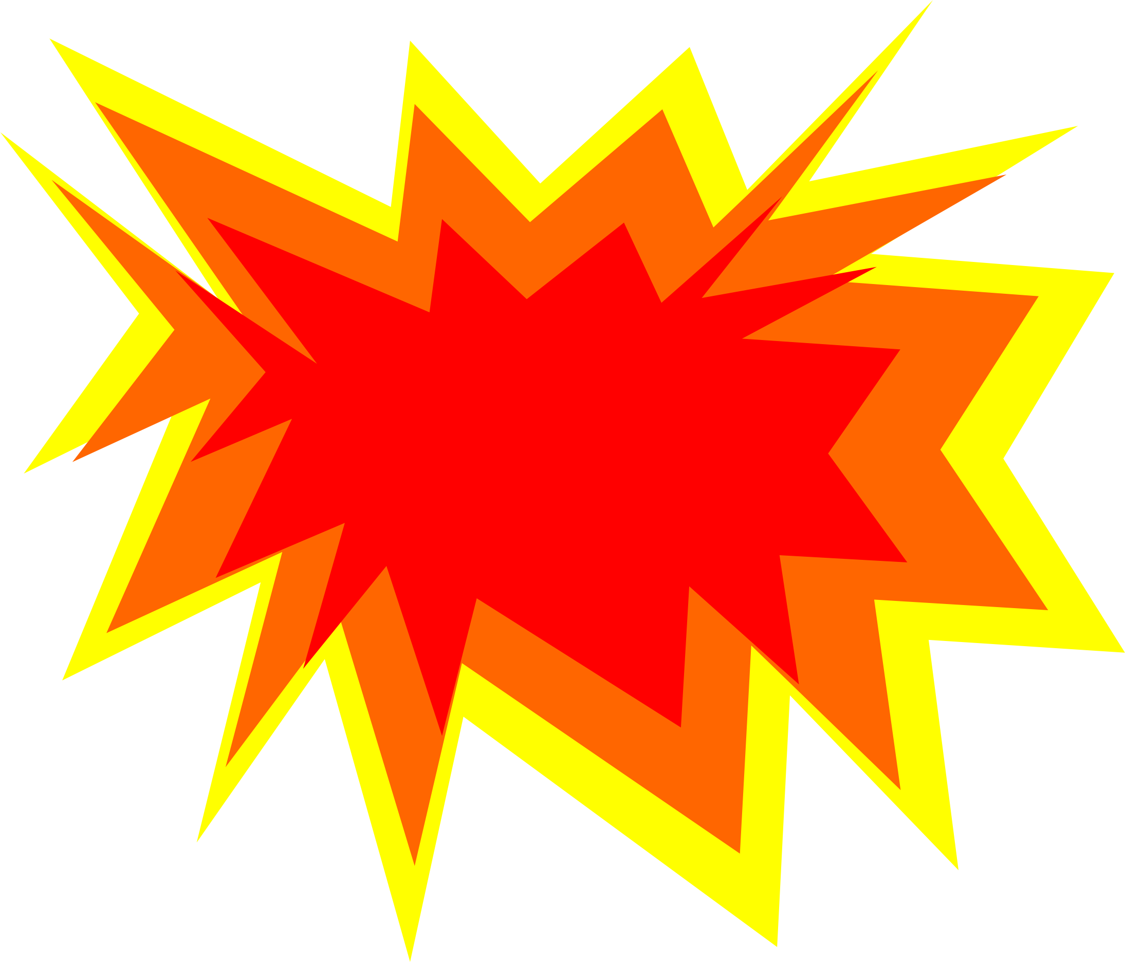 Cartoon Explosion Png ...