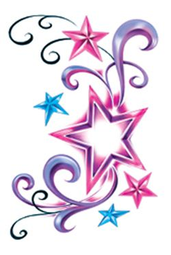 stars and swirls tattoo clipart best. Black Bedroom Furniture Sets. Home Design Ideas