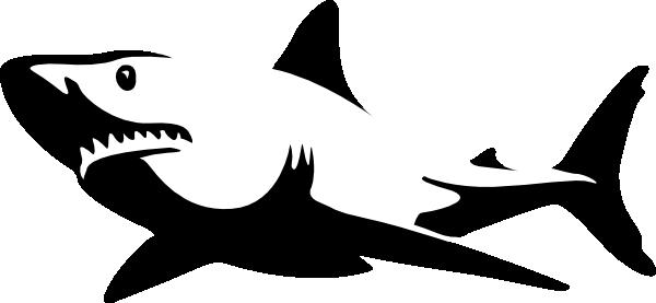 Blue.shark clip art - vector clip art online, royalty free ...