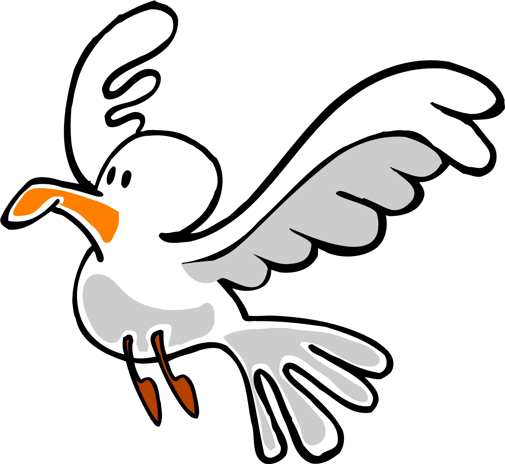 Cartoon Seagull - ClipArt Best