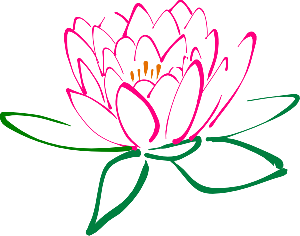 Free Lotus Clipart Black And White Images Download 2018: Lotus Flower Black And White