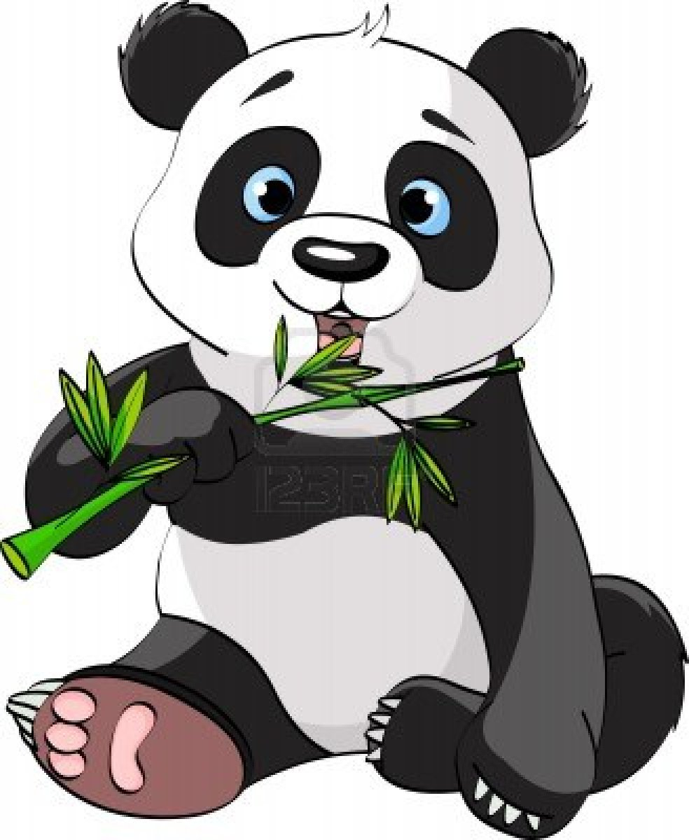 animals eating clipart - photo #33