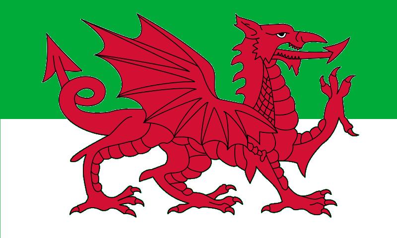 clipart welsh flag - photo #27